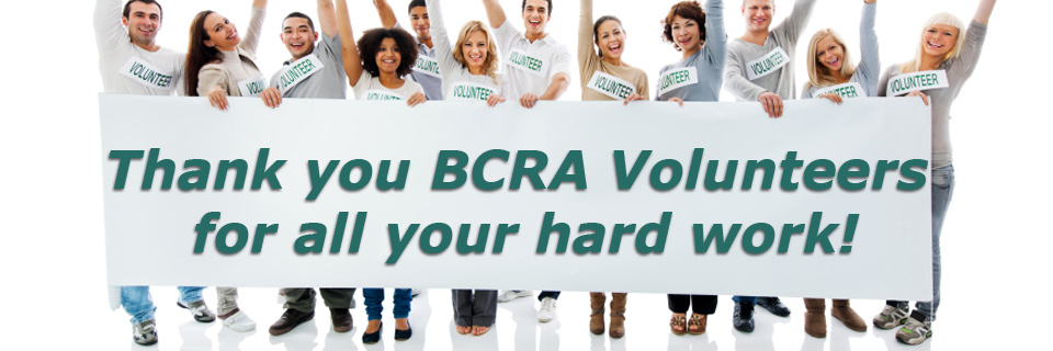 BCRA Volunteers