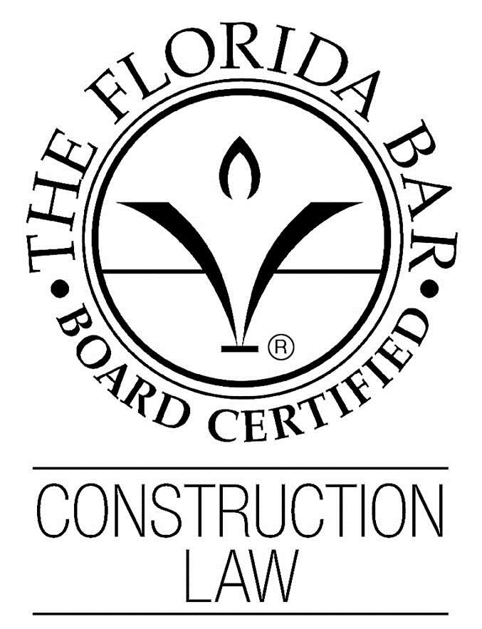Florida Bar Board Certified - Construction Law