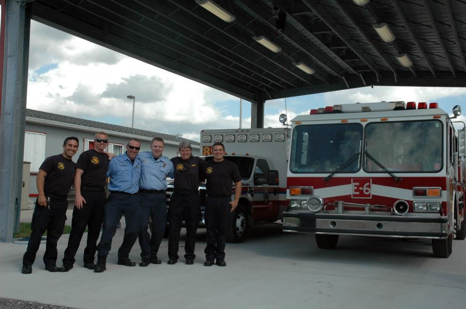 PBFR AND BCFR Station 6 crew with 89 crew