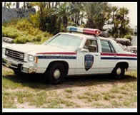 Old Police Car Year Unknown