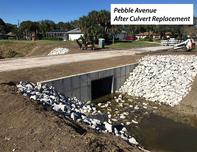 Pebble Avenue Culvert Pipe Replacement