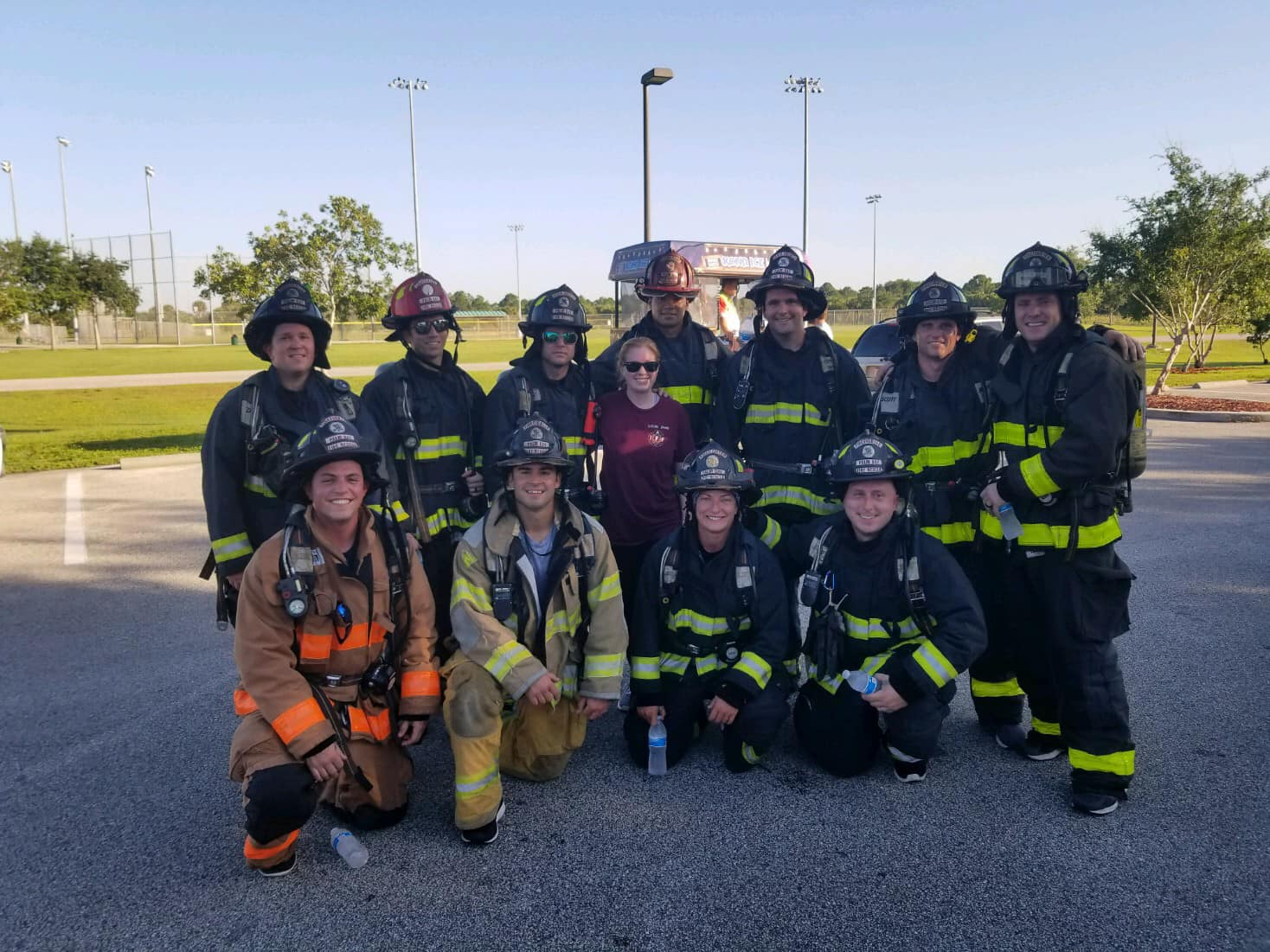 Fire Rescue Place 1st in Hometown Heroes 5k