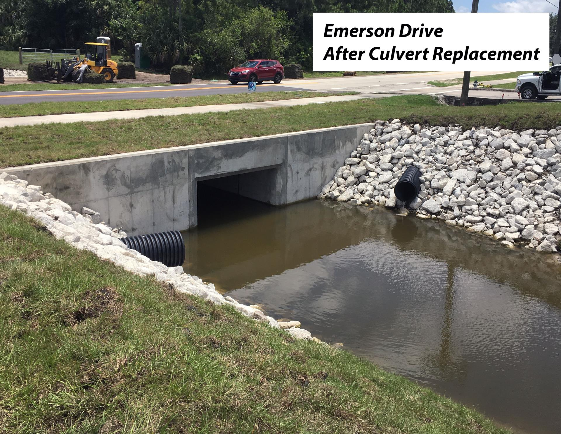 Emerson Drive Culvert Pipe Replacement