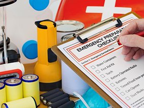 Checklist for emergency supplies