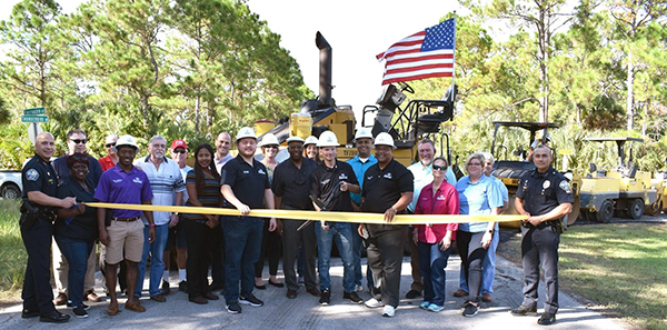 GO Roads Bond Paving Ribbon Cutting Ceremony