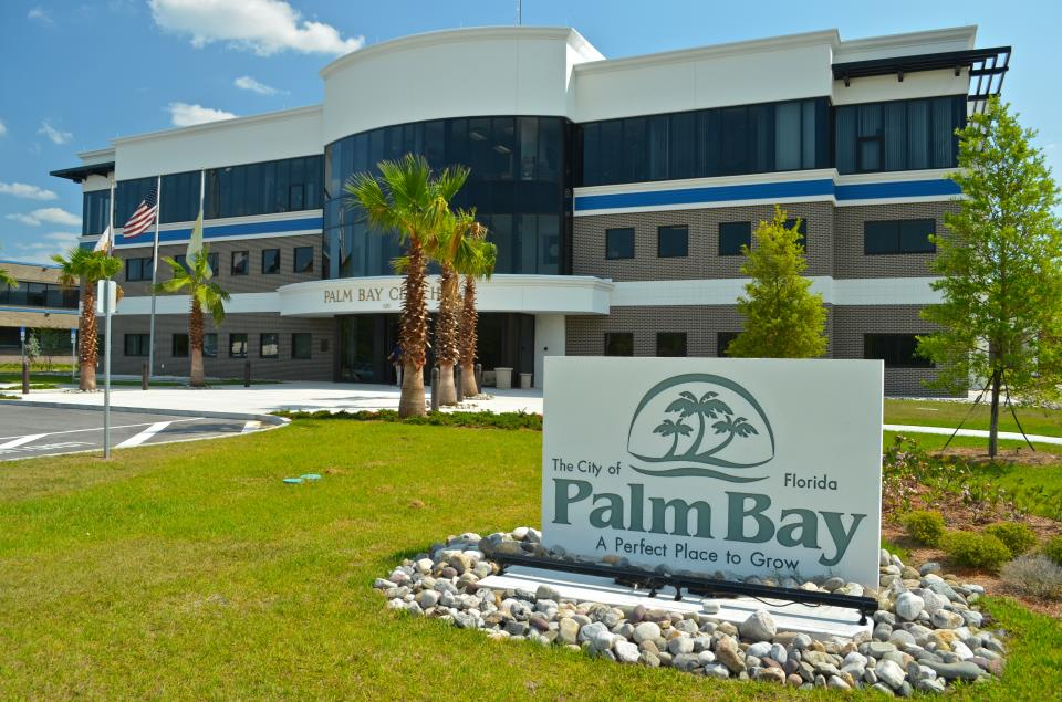 Palm Bay Florida Zip Code Map.Directions Maps City Of Palm Bay Fl